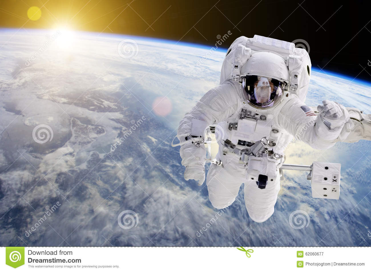 astronaut in outer space - photo #5