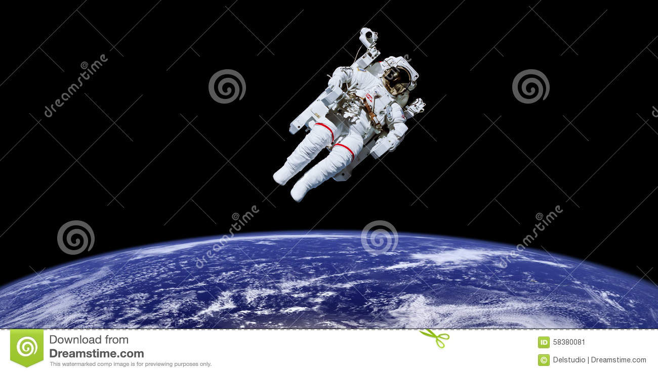 astronaut the outer space appears - photo #23