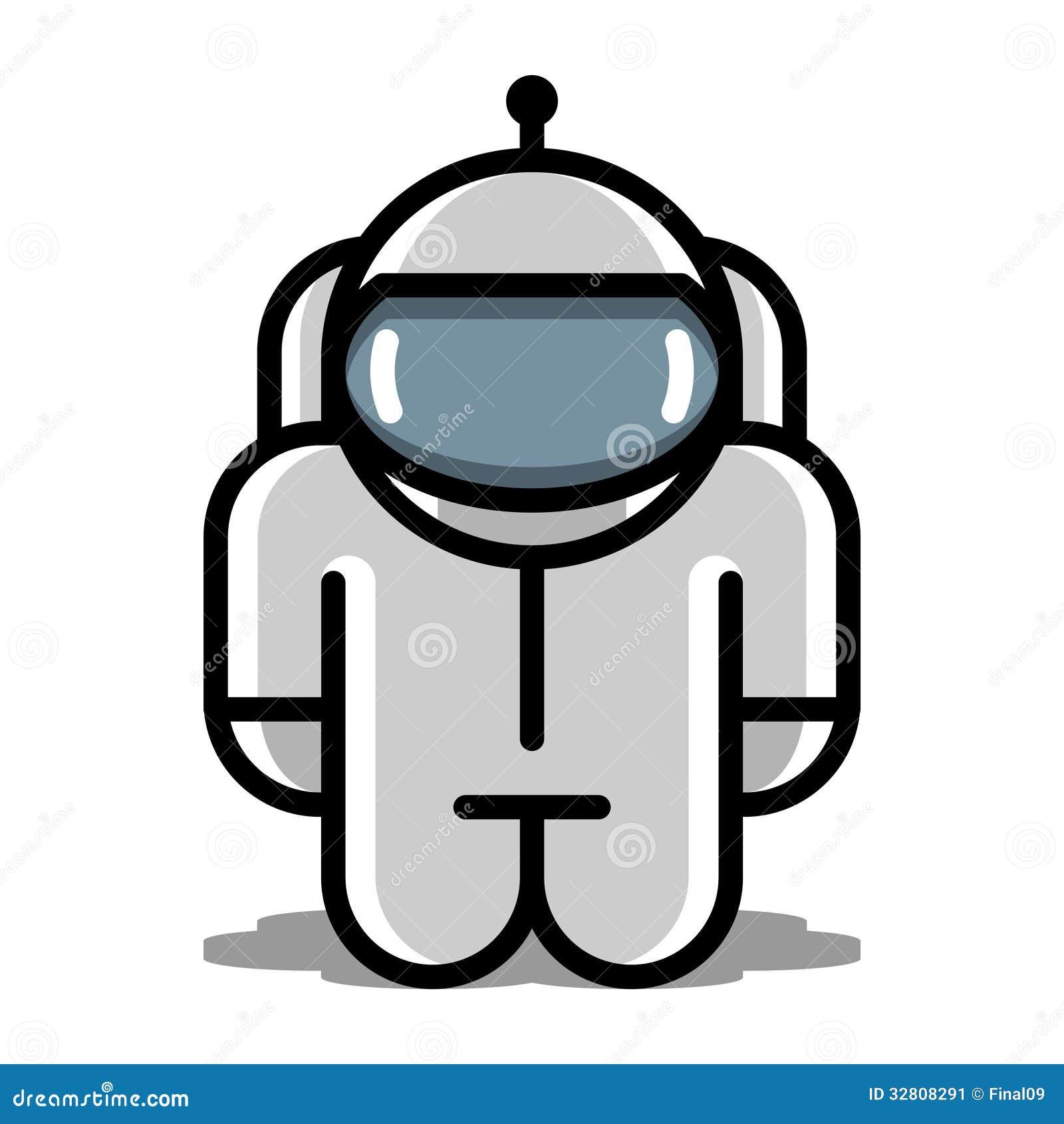 Astronaut Roboter-Spie...