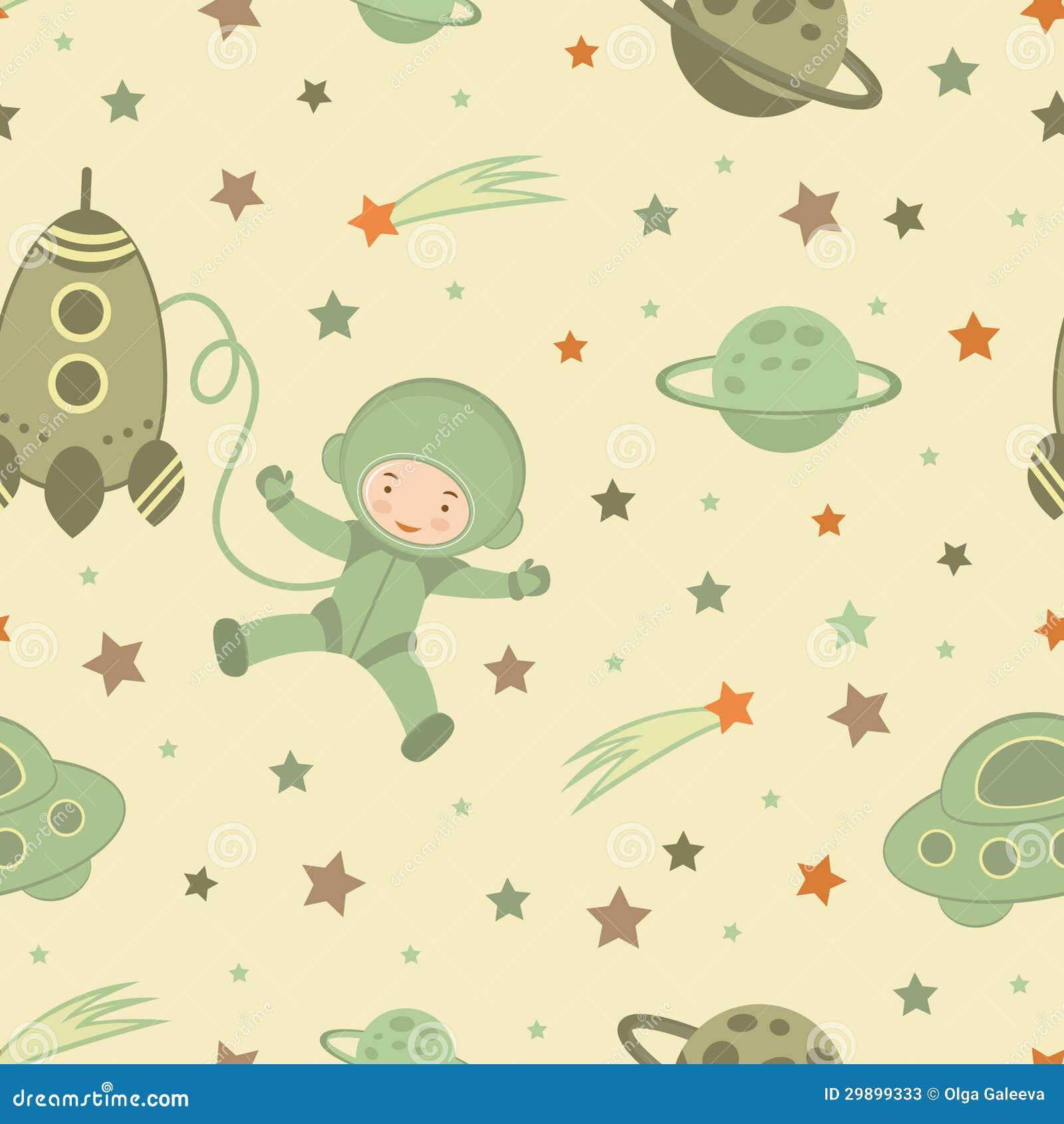 Astronaut in ruimtepatroon