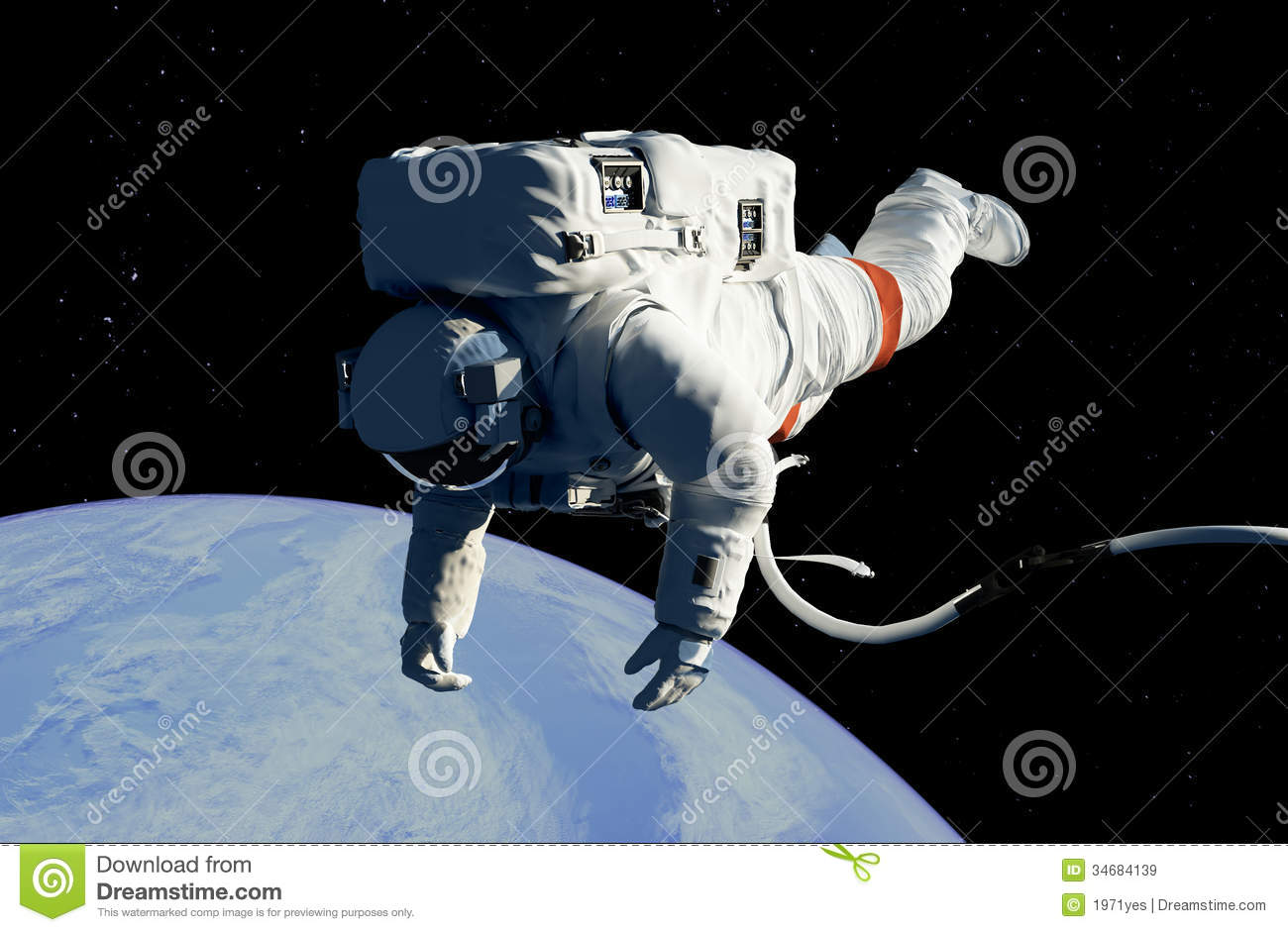 an astronaut in space will observe the sky as - photo #24