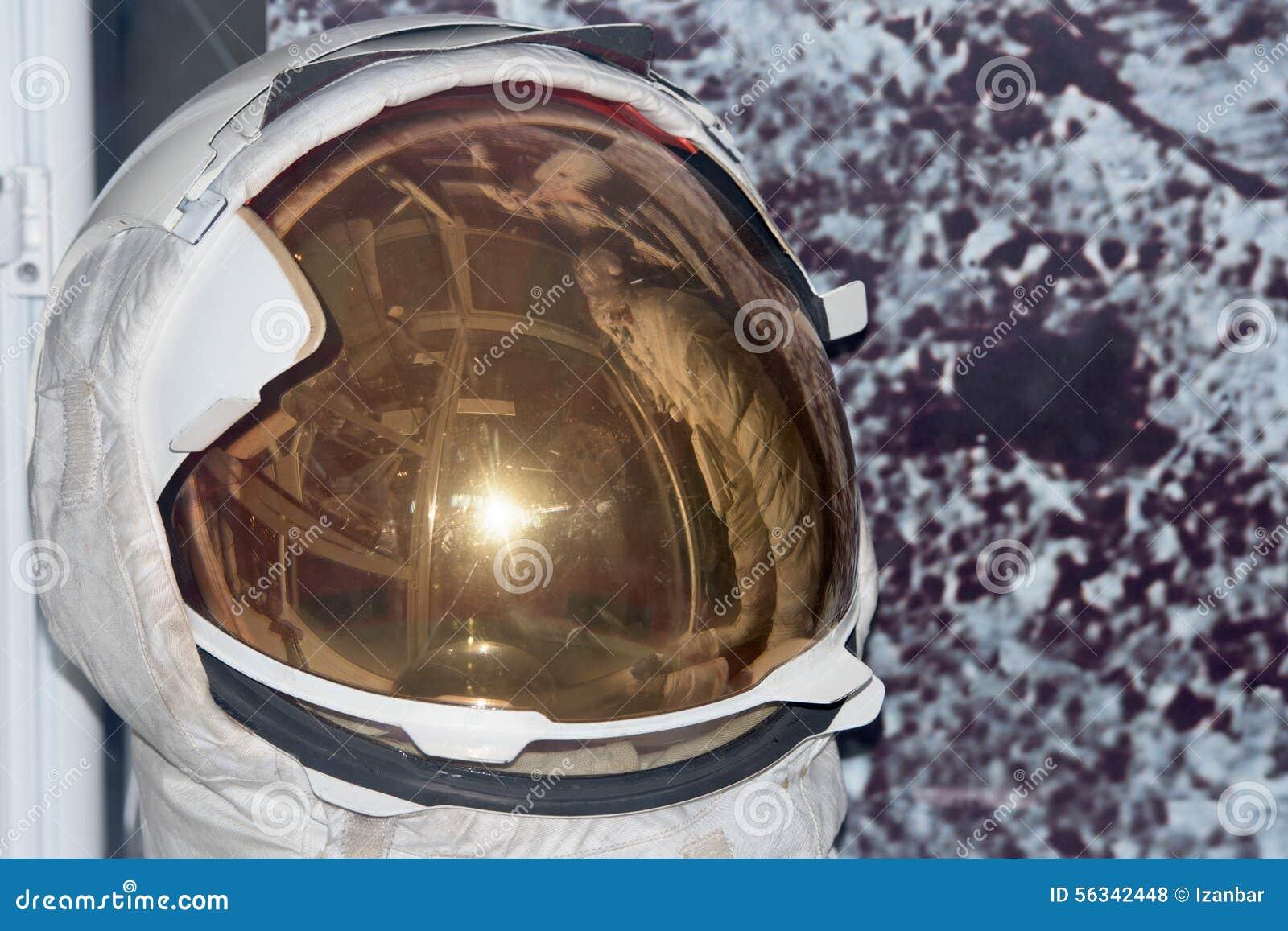 Astronaut Space Suit Helmet Detail Stock Photo - Image ...