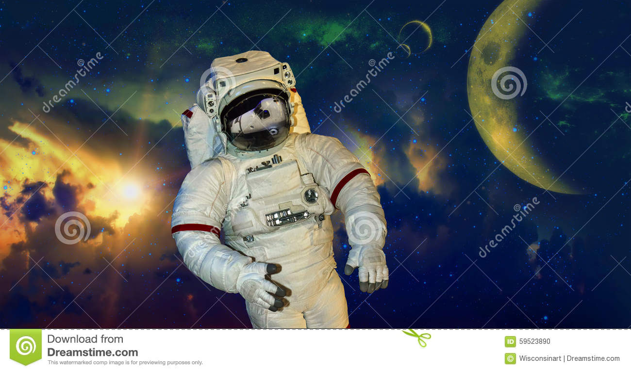 to an astronaut the outer space appears in which colour - photo #25