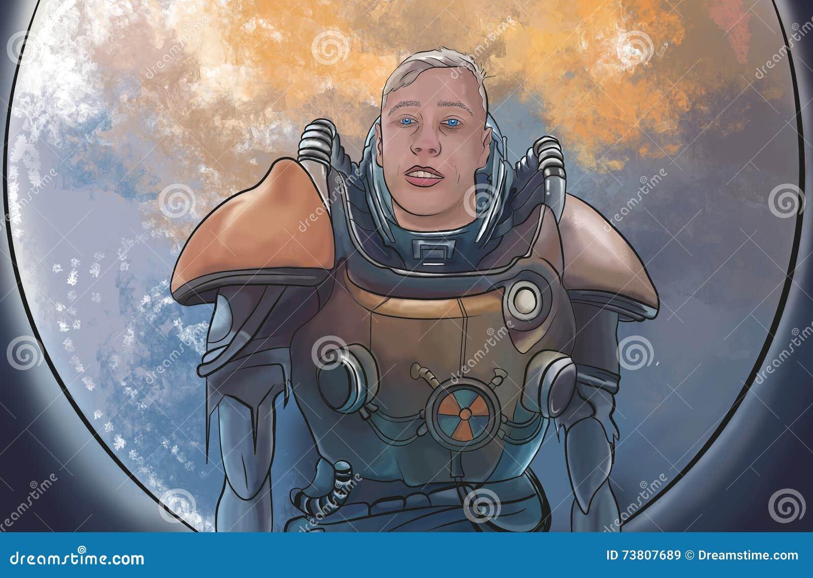 Astronaute sauvage