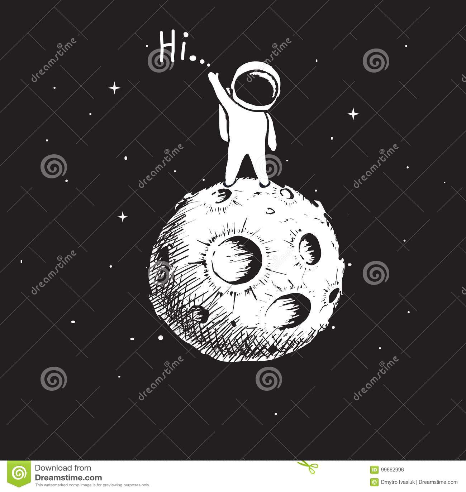Astronautenverblijf op planeet