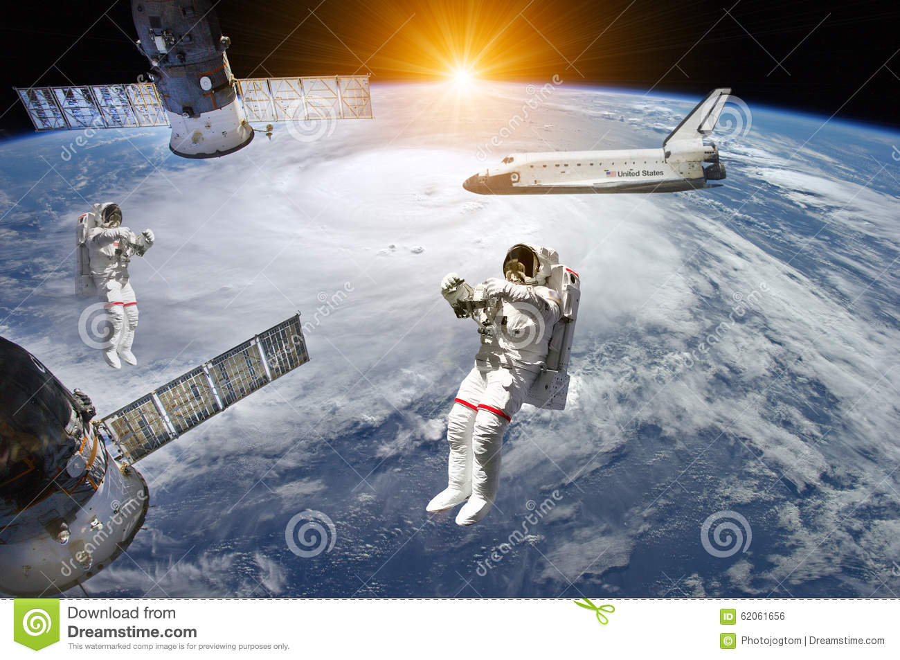 astronaut in outer space observe sky as - photo #30