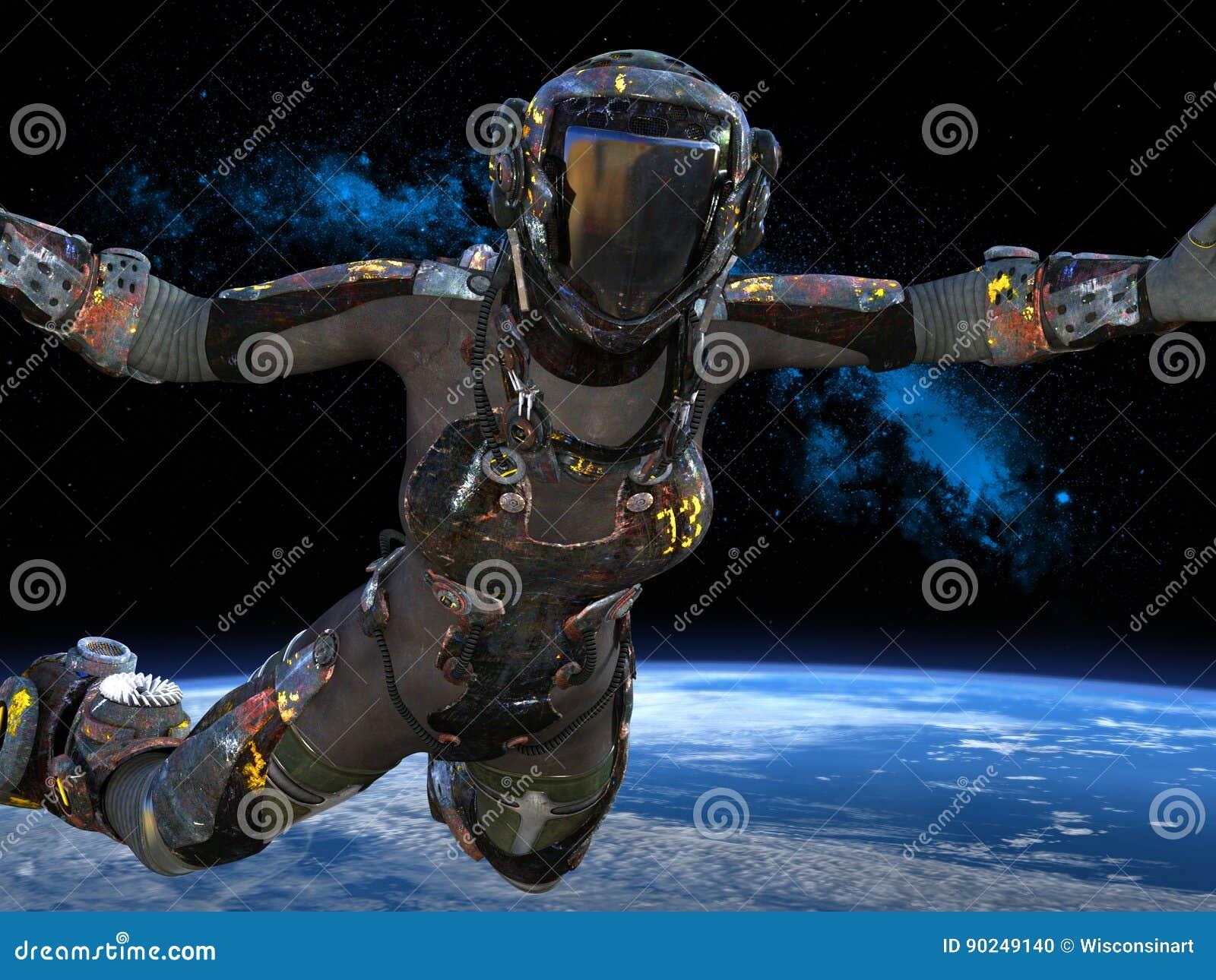Astronautyczny Exploerer, astronauta, kosmos