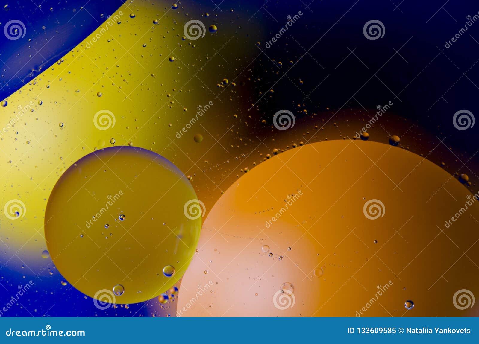 Astronautyczny lub planety wszechrzeczy pozaziemski abstrakcjonistyczny tło Abstrakcjonistyczny molekuła atomu sctructure Makro-