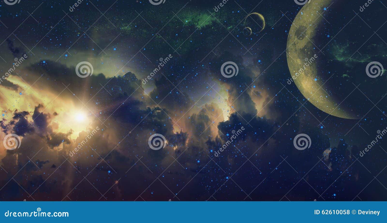 Astronautyczny tło