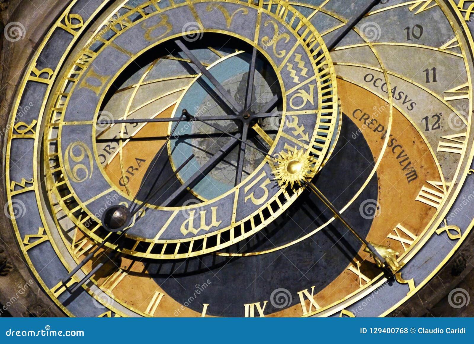 Astronomiczny zegarek Praga
