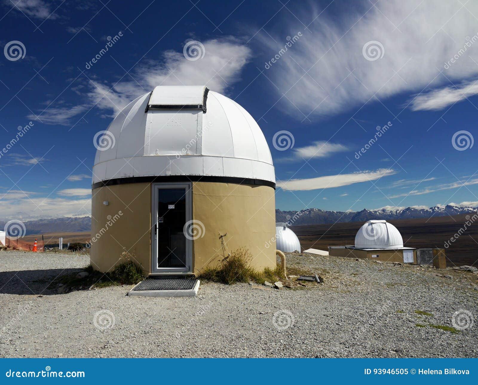 Astronomisches observatorium teleskop stockbild bild von