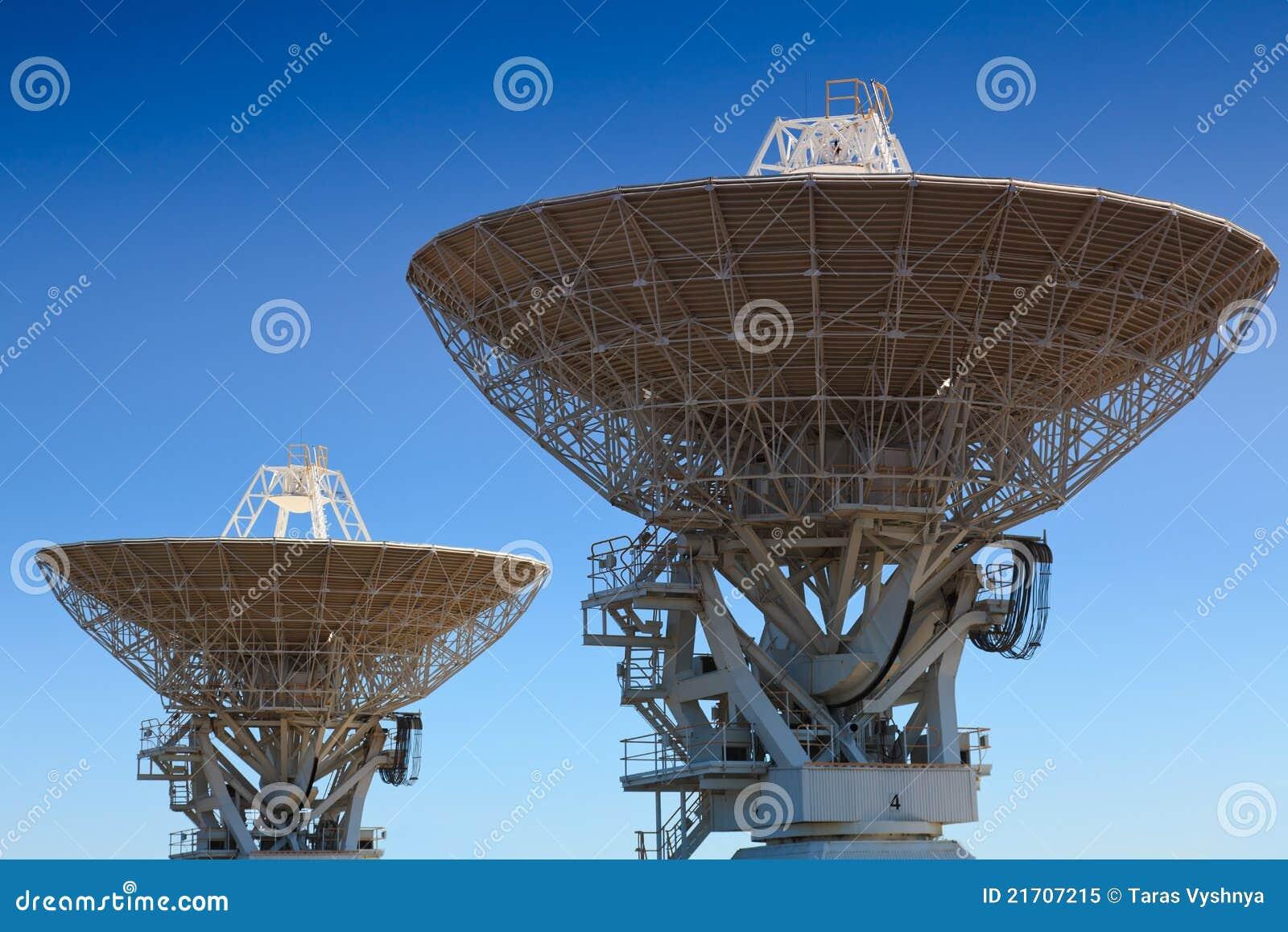 Astronomy 2 Antenna Royalty Free Stock Photo Image 21707215