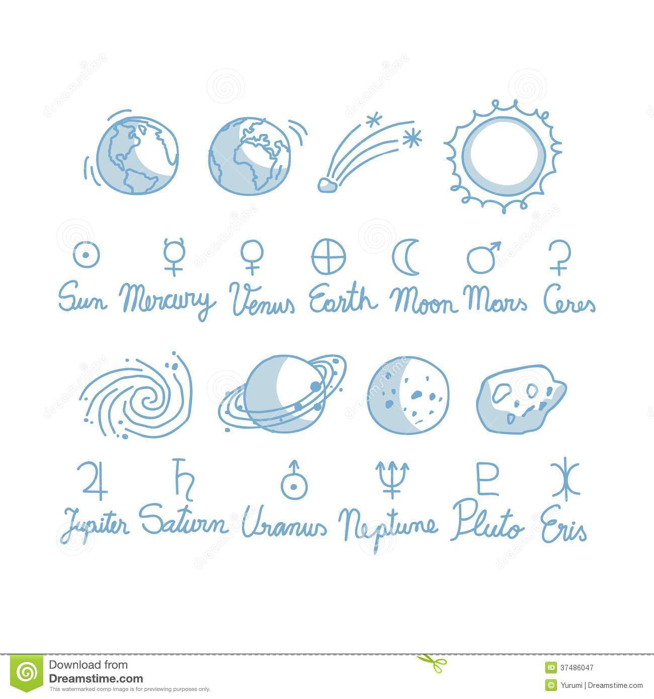 astronomy doodles - photo #2