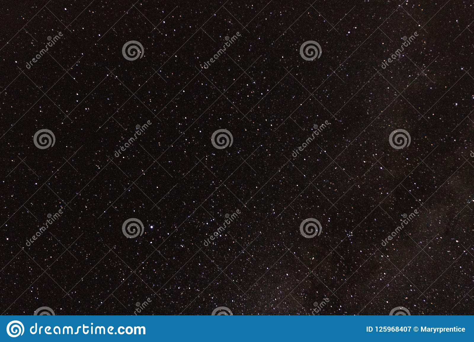 Astrophotography galaxy star background for astronomy, space or cosmos, a night sky universe, interstellar science fiction