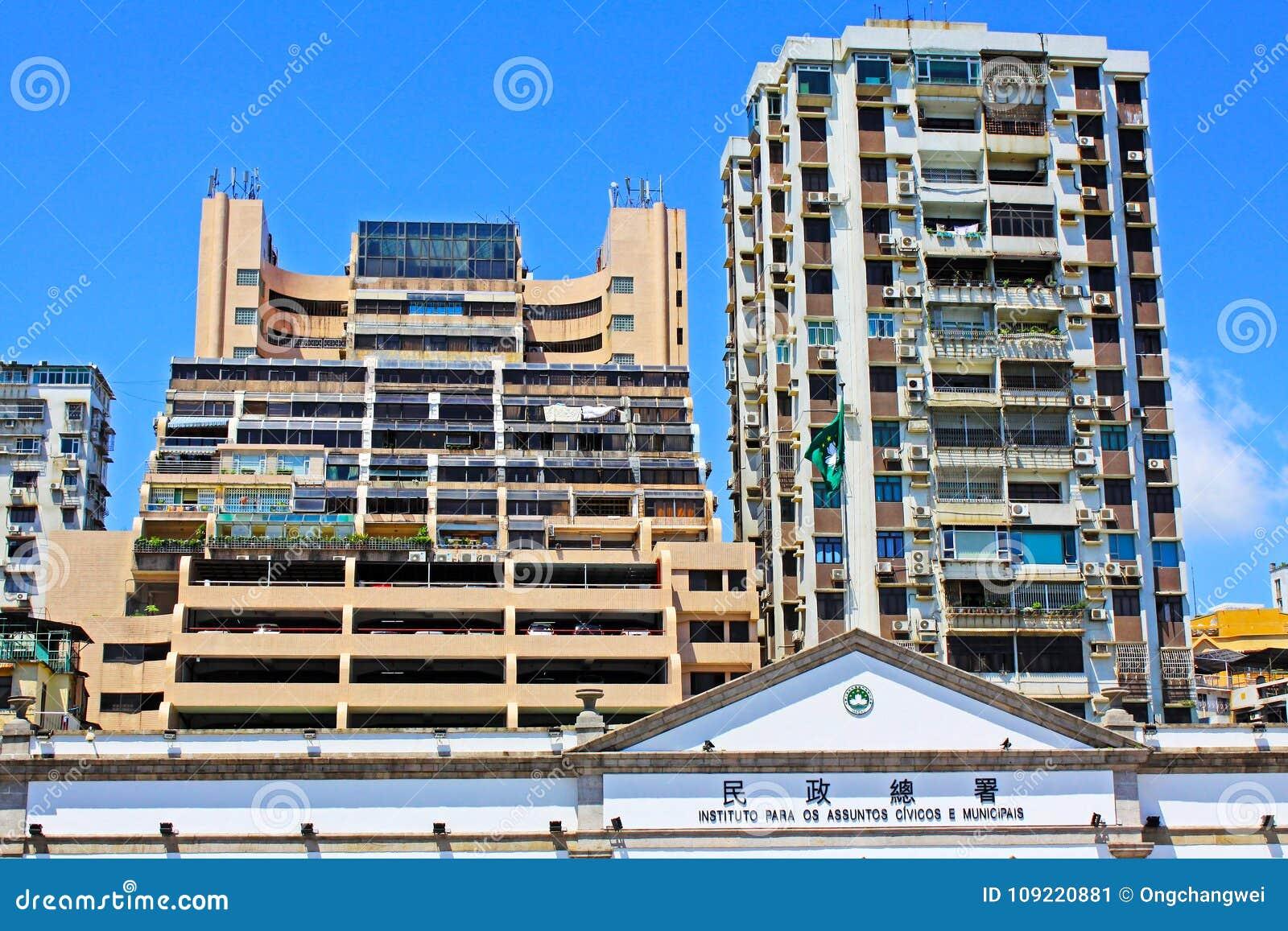 Asuntos cívicos y municipales oficina, Macao, China