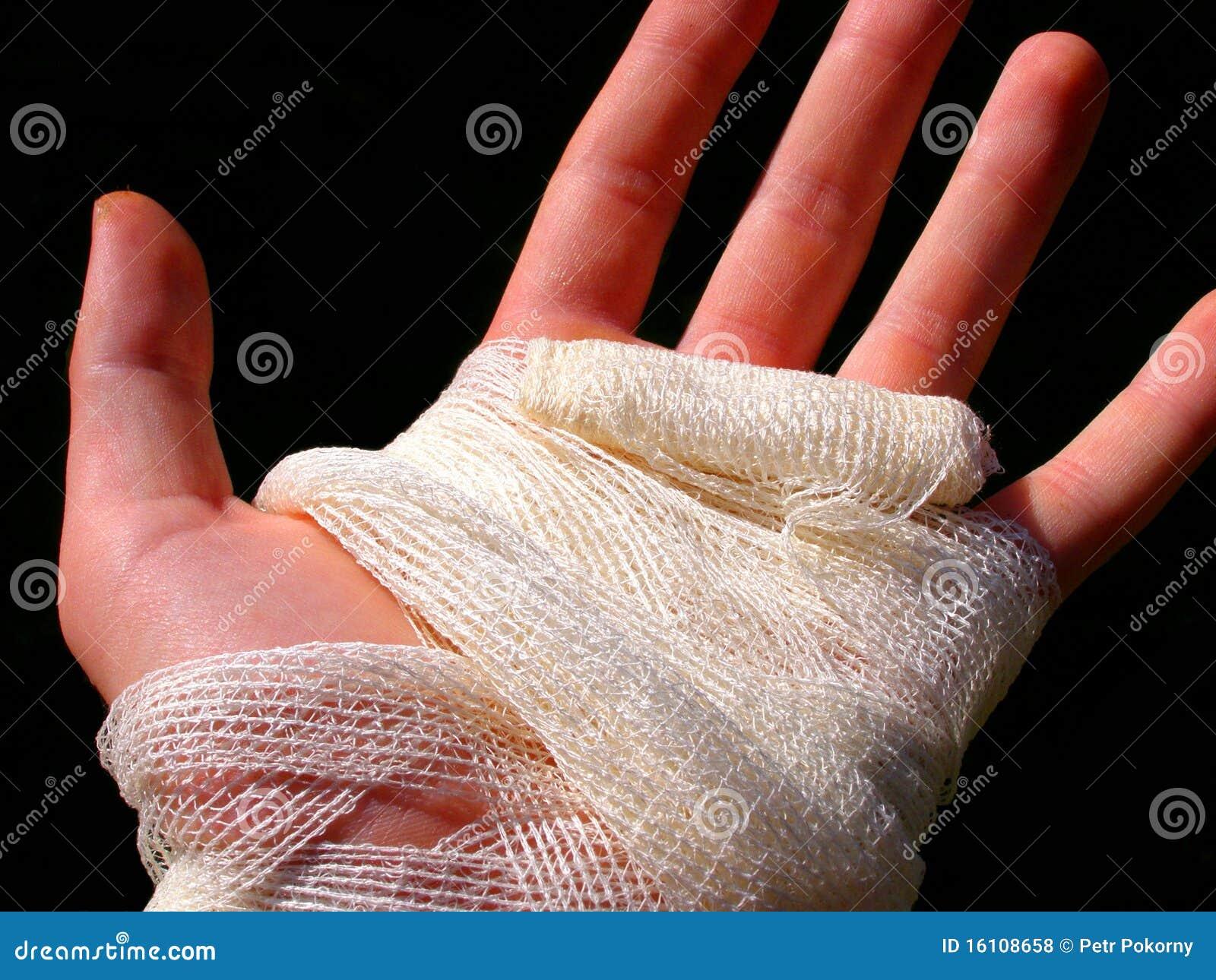 Atadura da mão