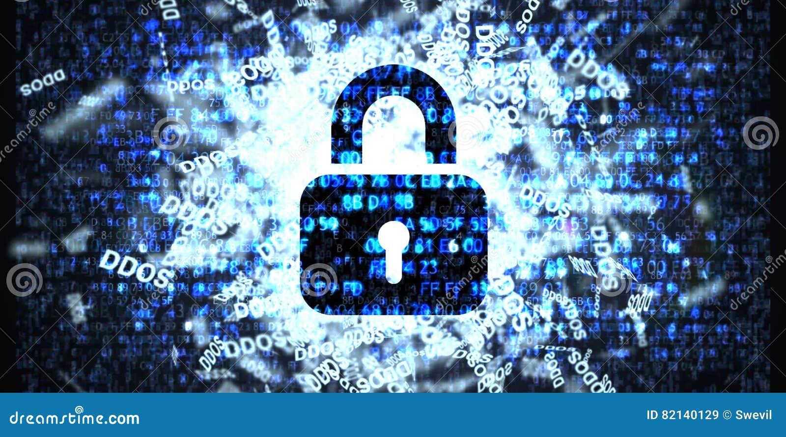 Ataque de DDOS, Trojan da infecção, ataques do vírus