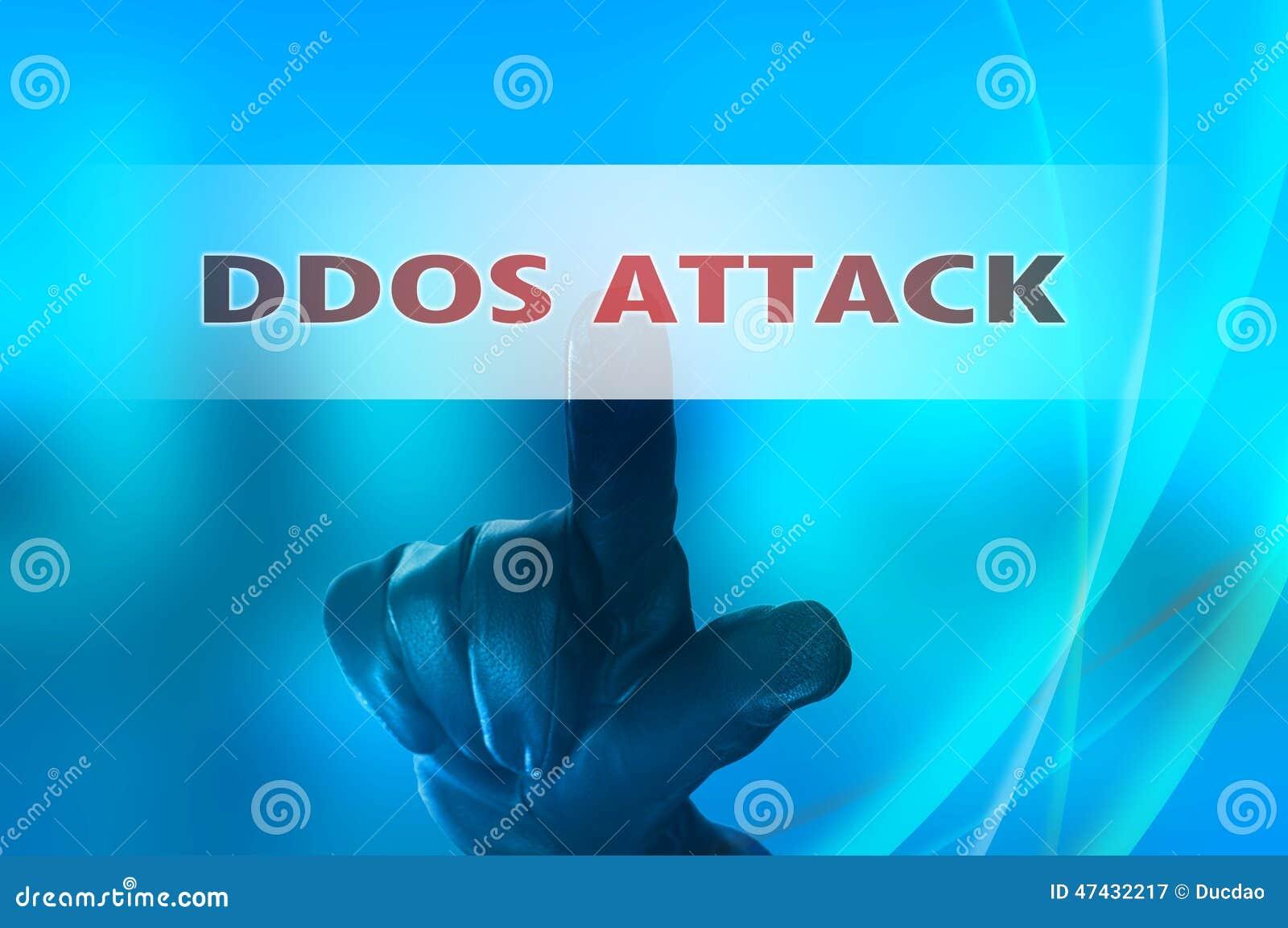 Ataque distribuido en línea de los servicios de la negación