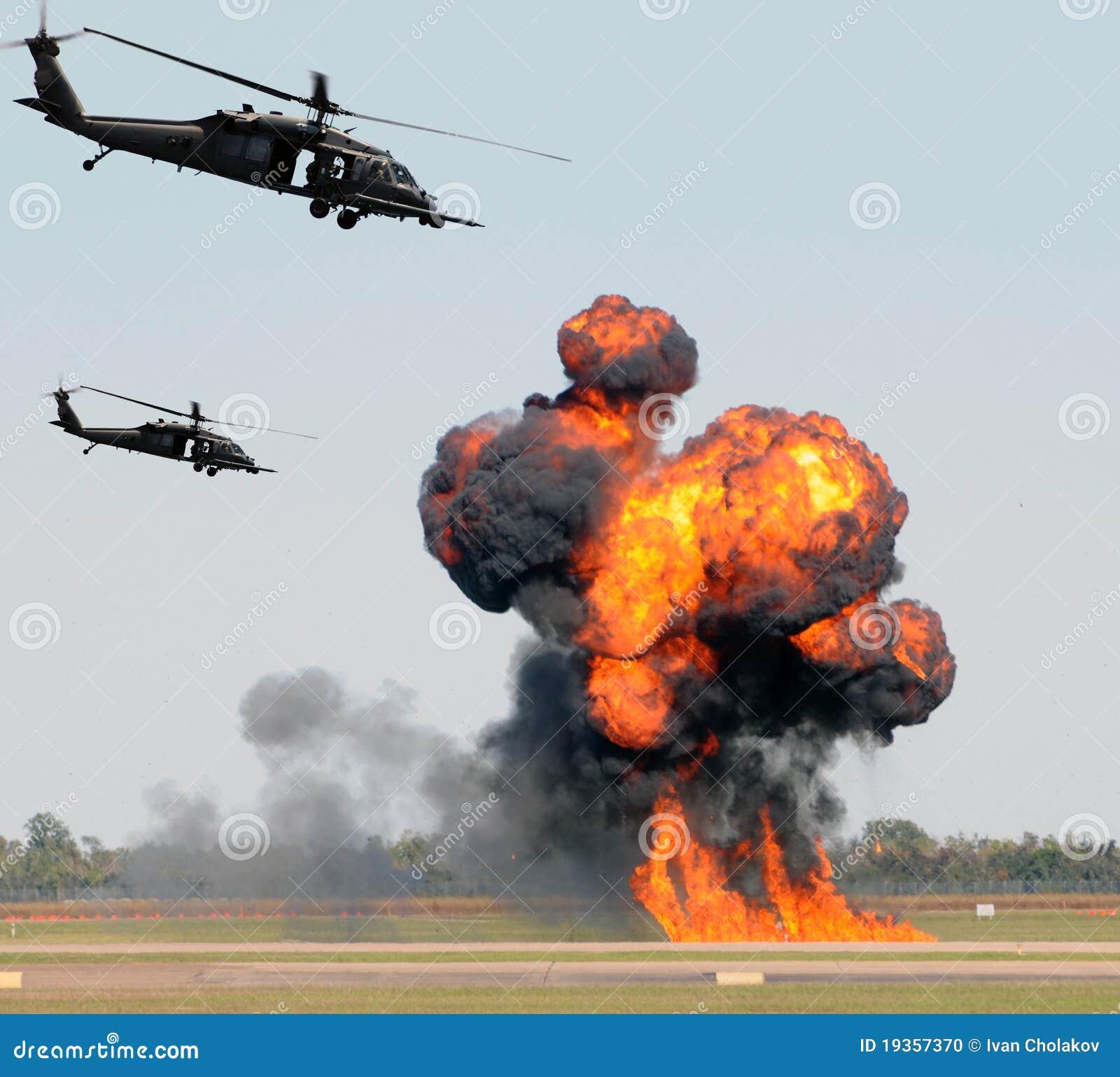 Ataque do helicóptero