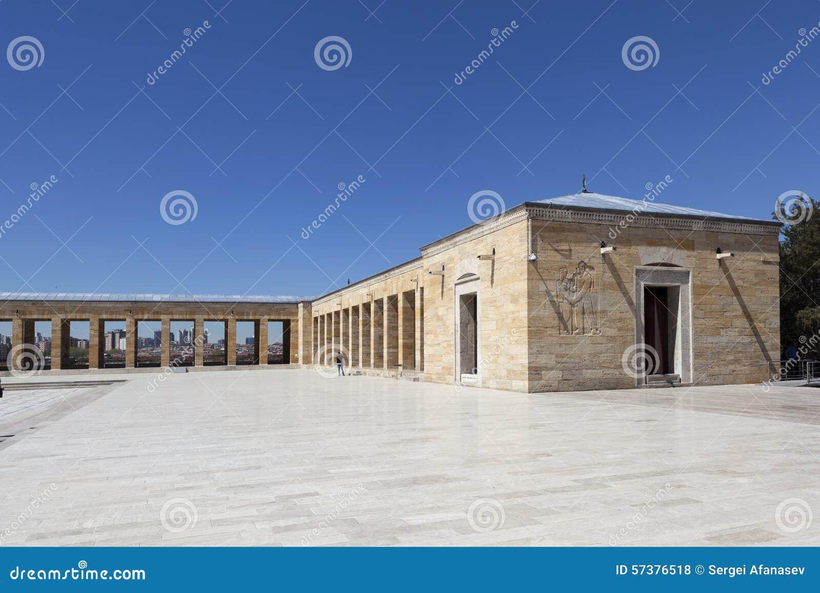 Ataturkmausoleum (Fragment) Ankara, Turkije