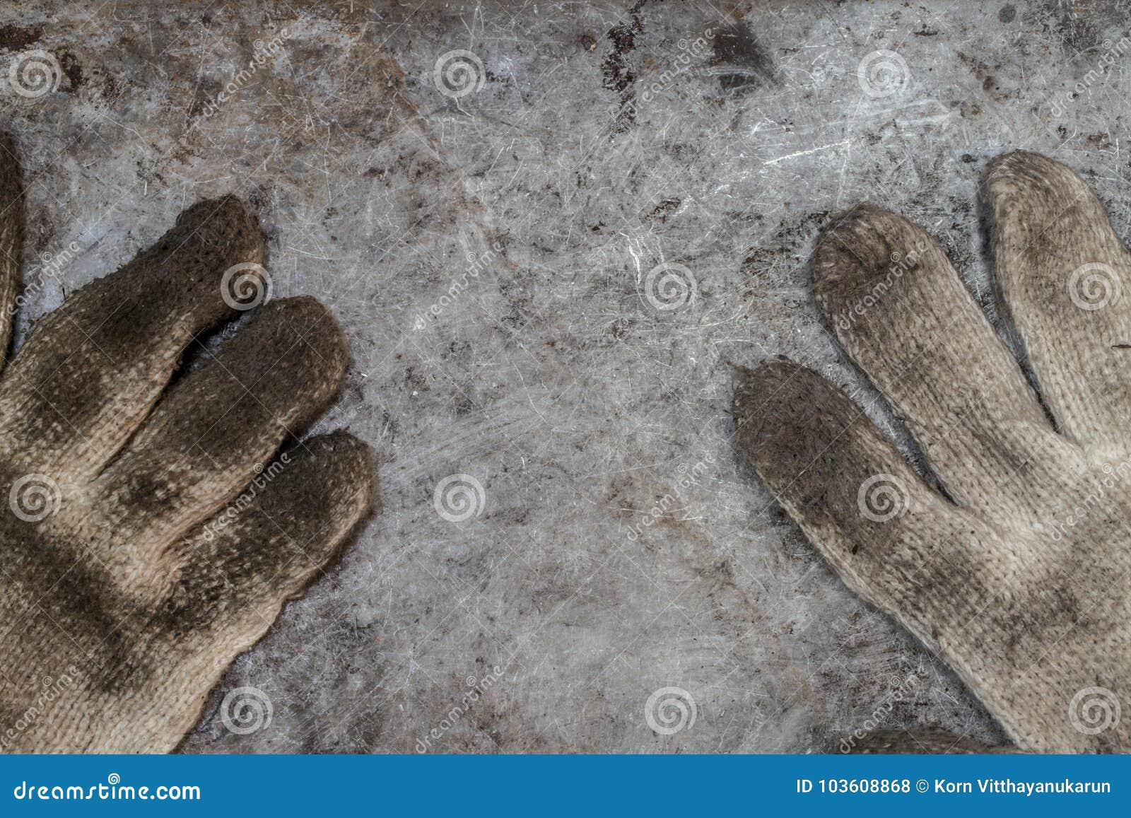 Atelier sale de gant de bricoleur d outils