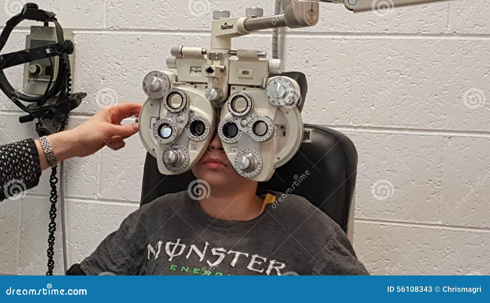 Atención sanitaria del ojo