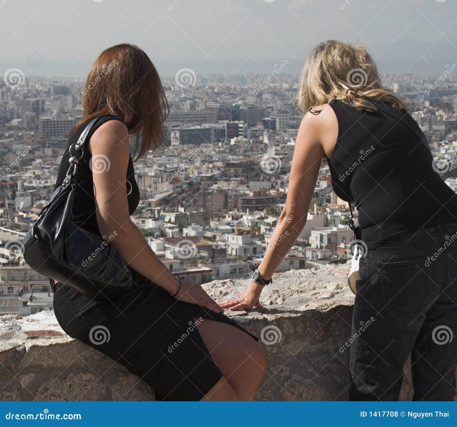 Atene dall acropoli