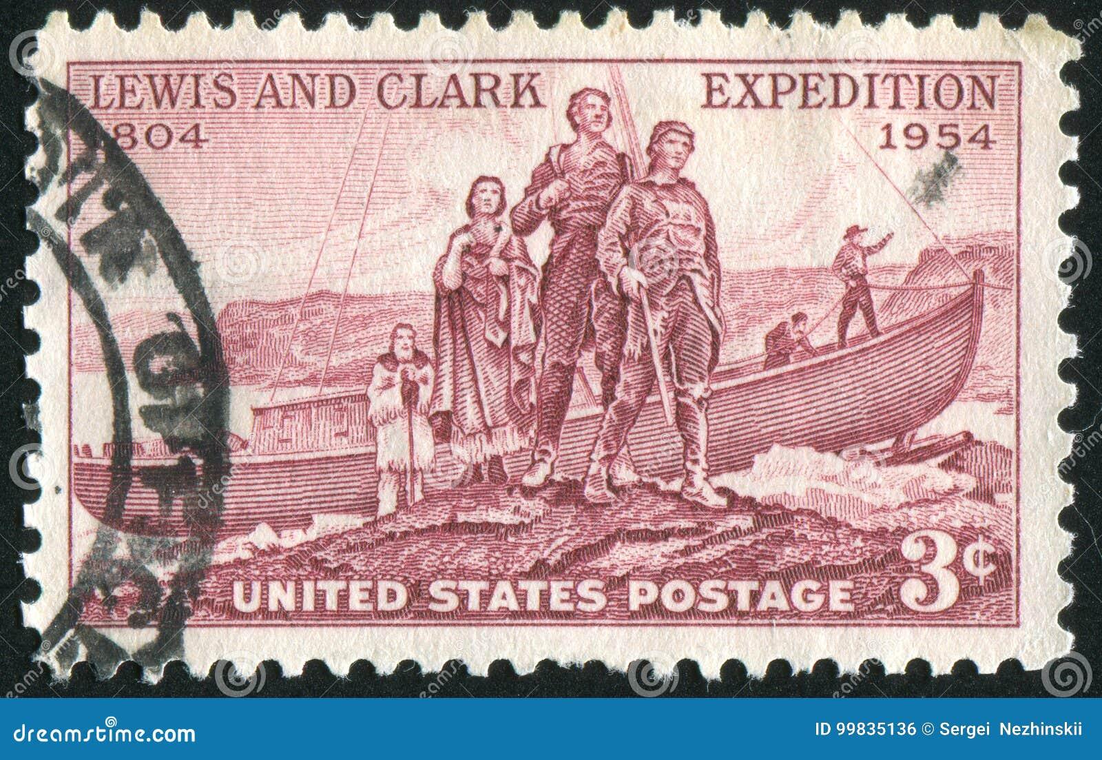 Aterrizaje de la expedición de Lewis y de Clark