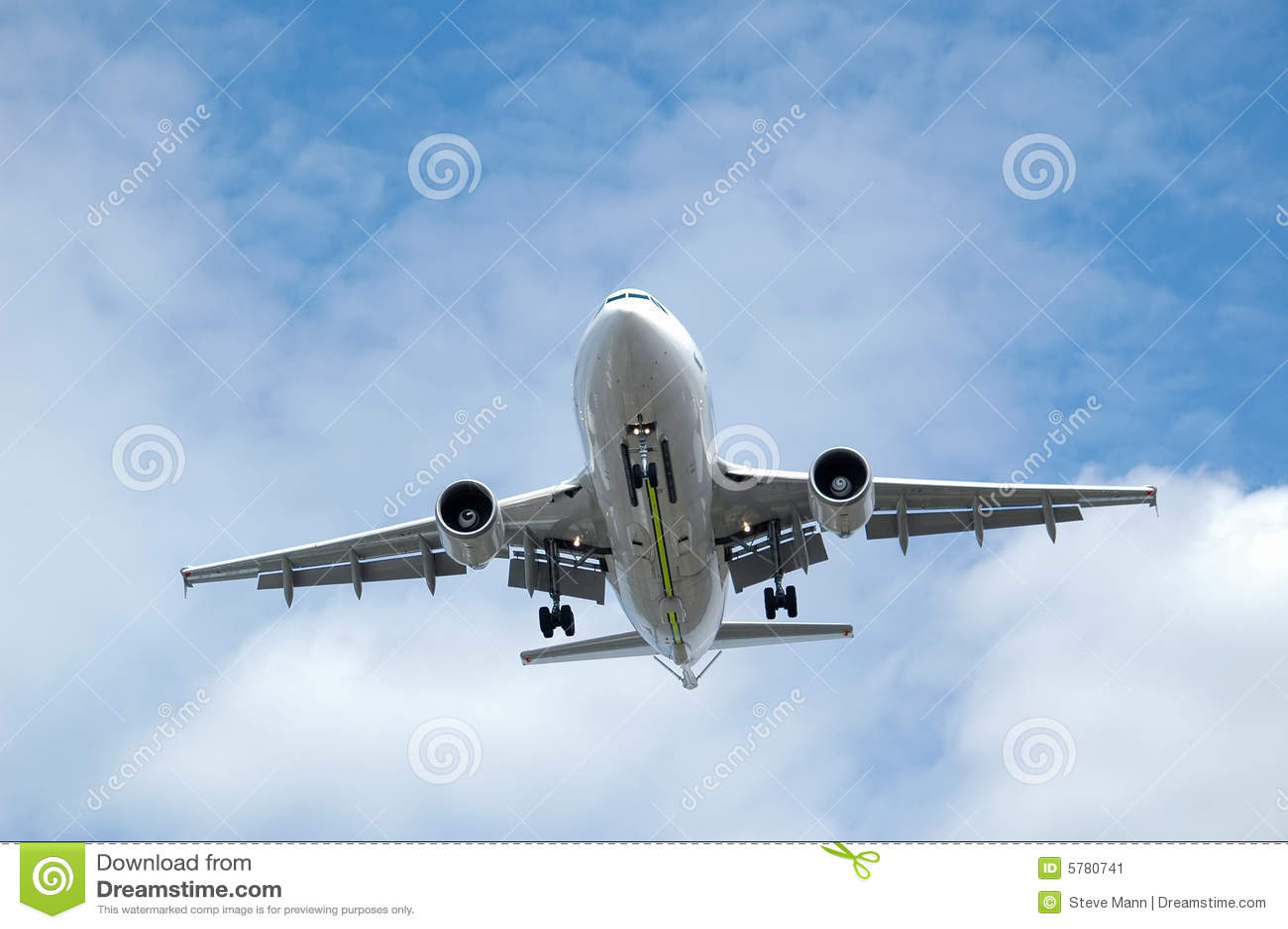 Aterrizaje del jet