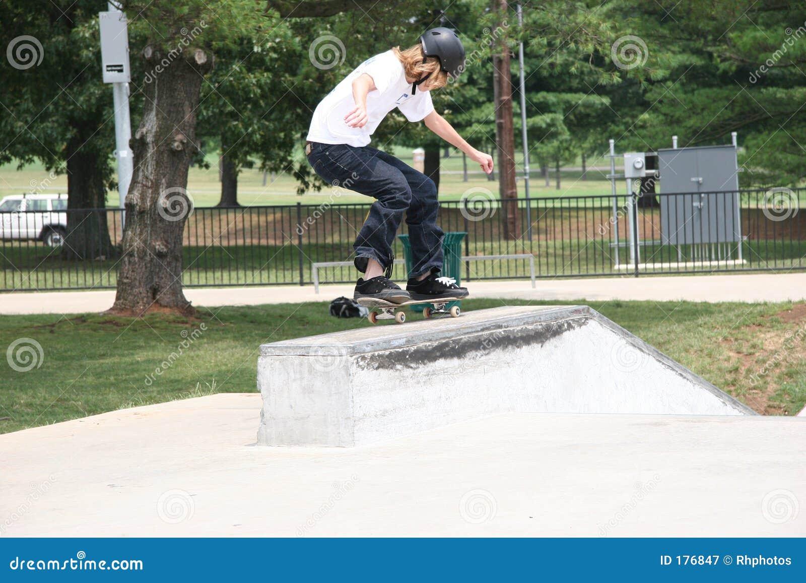 Aterrizaje del skater