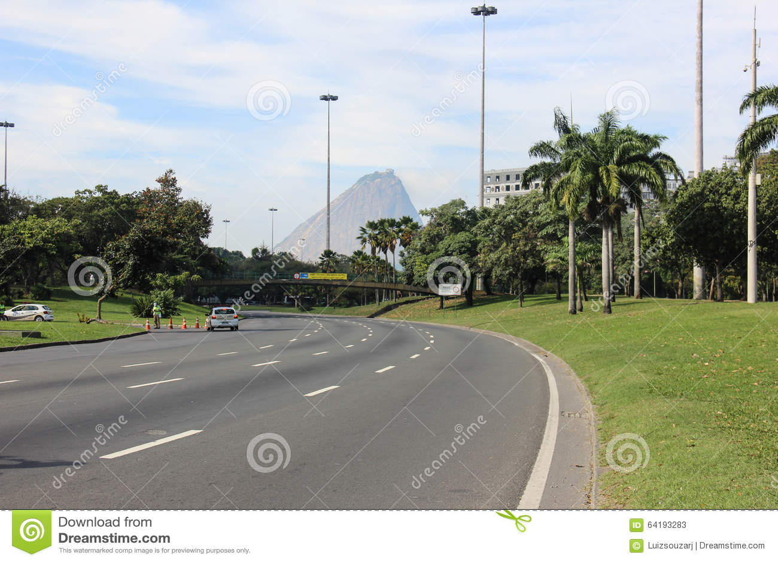 Aterro Do Flamengo Park In Rio De Janeiro Stock Image Image Of Leisure Vehicle 64193283