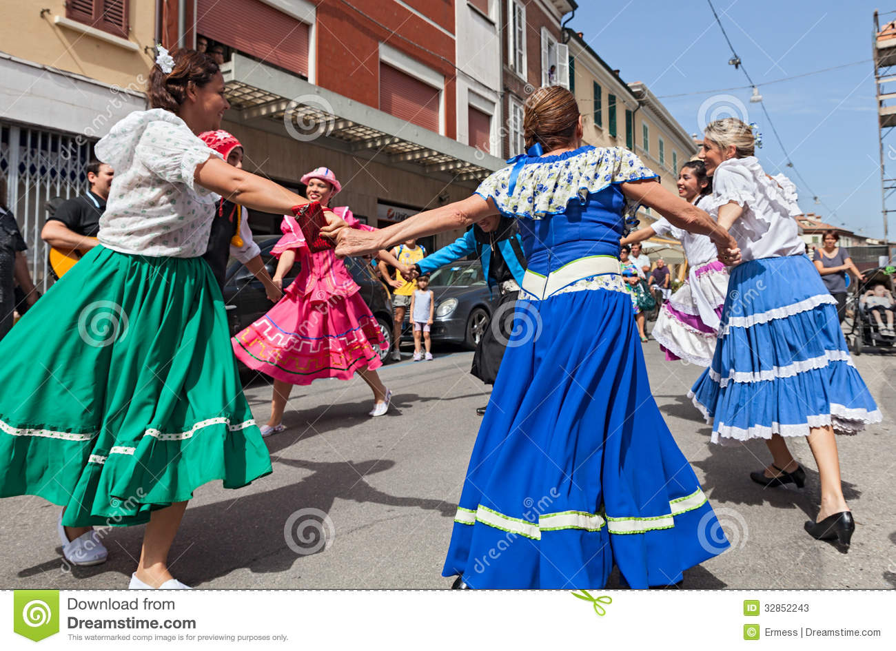 Atgentine circle dance editorial stock photo  Image of group
