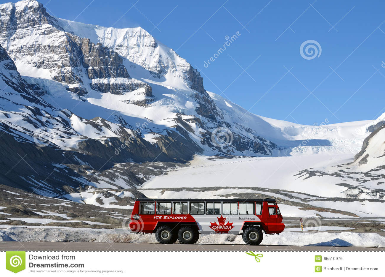 Athabasca Glacier Tours Jasper