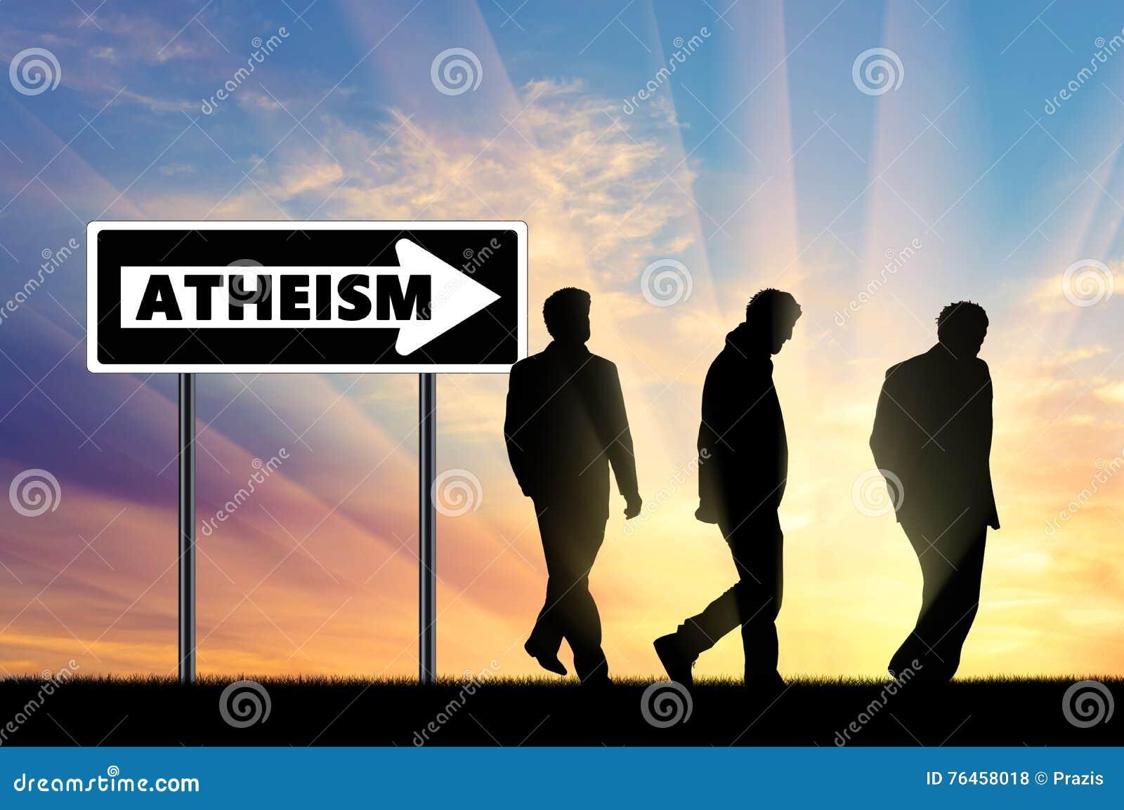 Atheism Ateos tres hombres