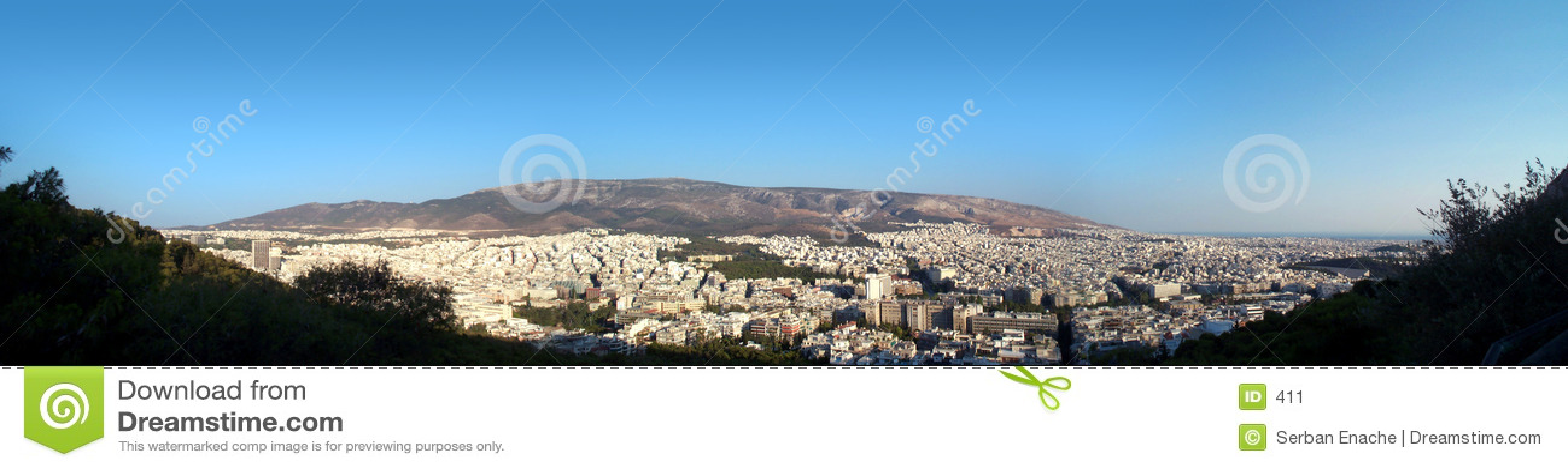 Athen-Panorama