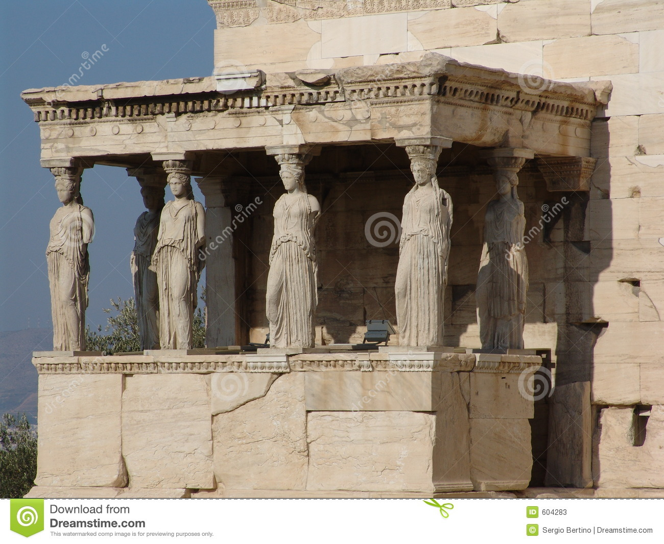 Temple Of Athena Nike Stock Image Image Of Pillar History 604283