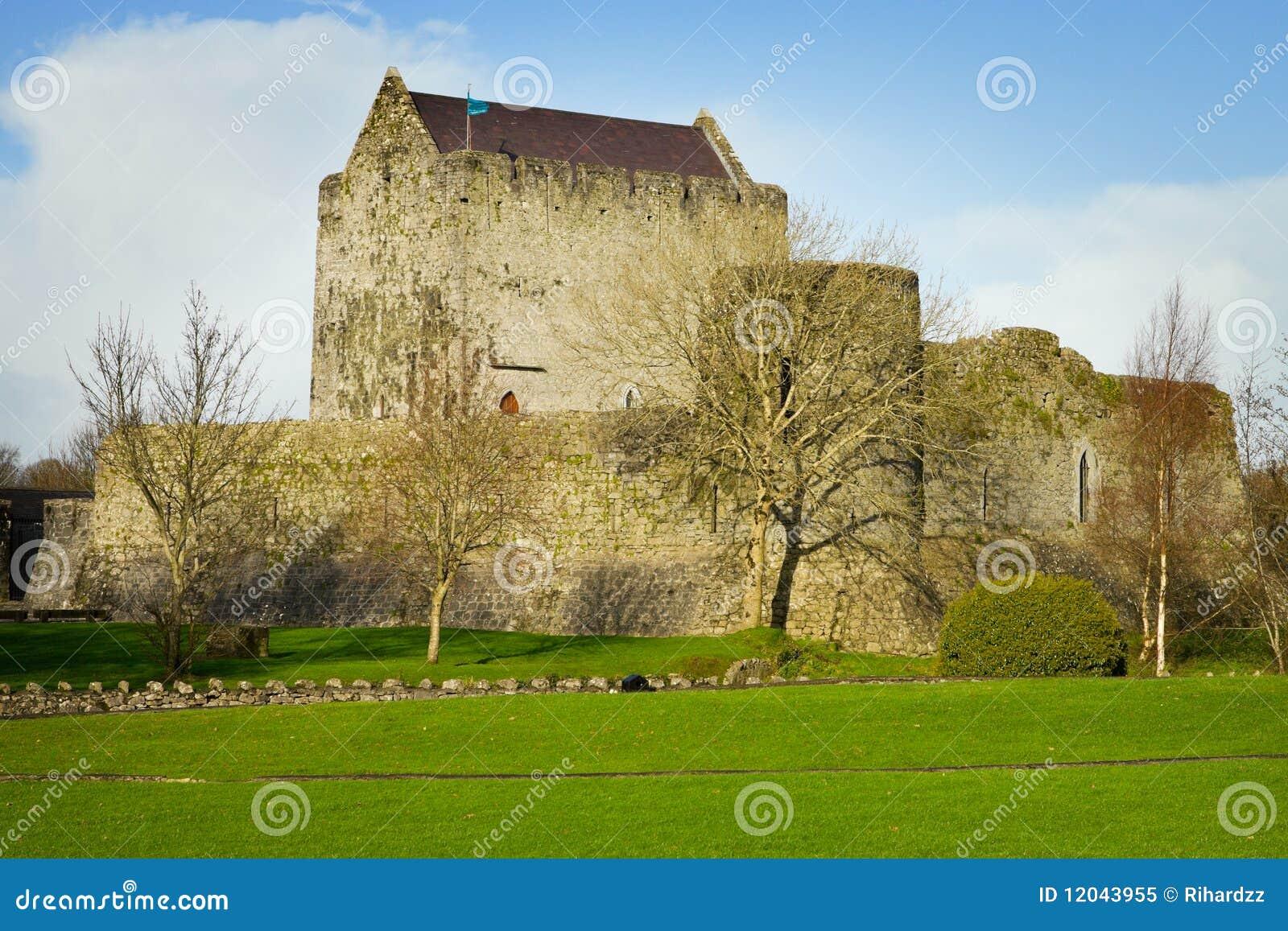 Athenry秋天城堡