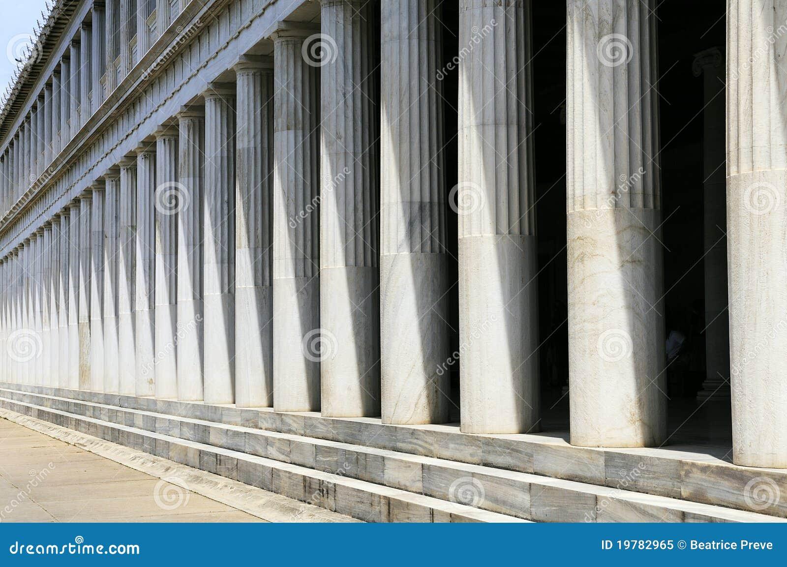 Athens grekpelare