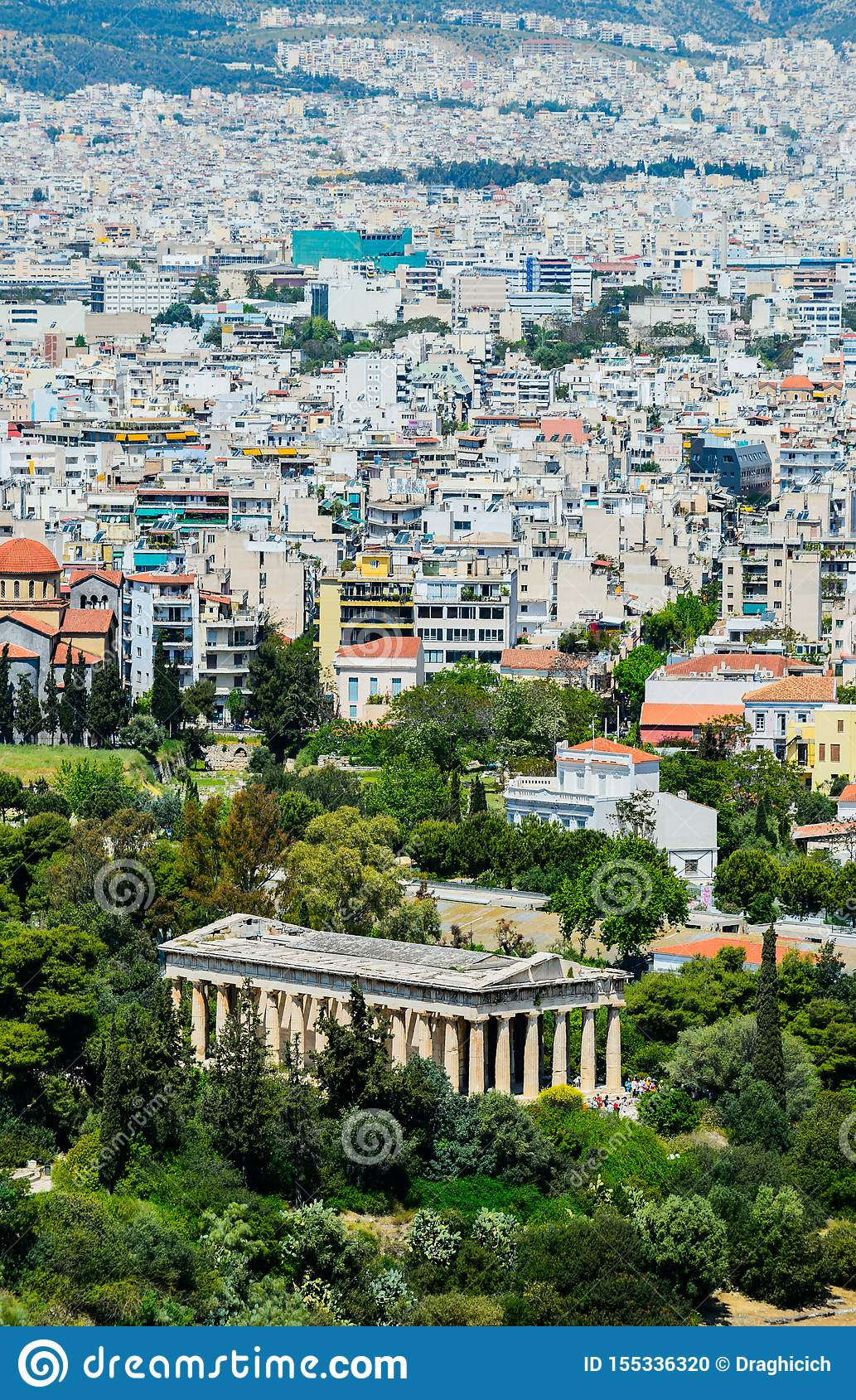 Athens hephaestus ?wi?tynia