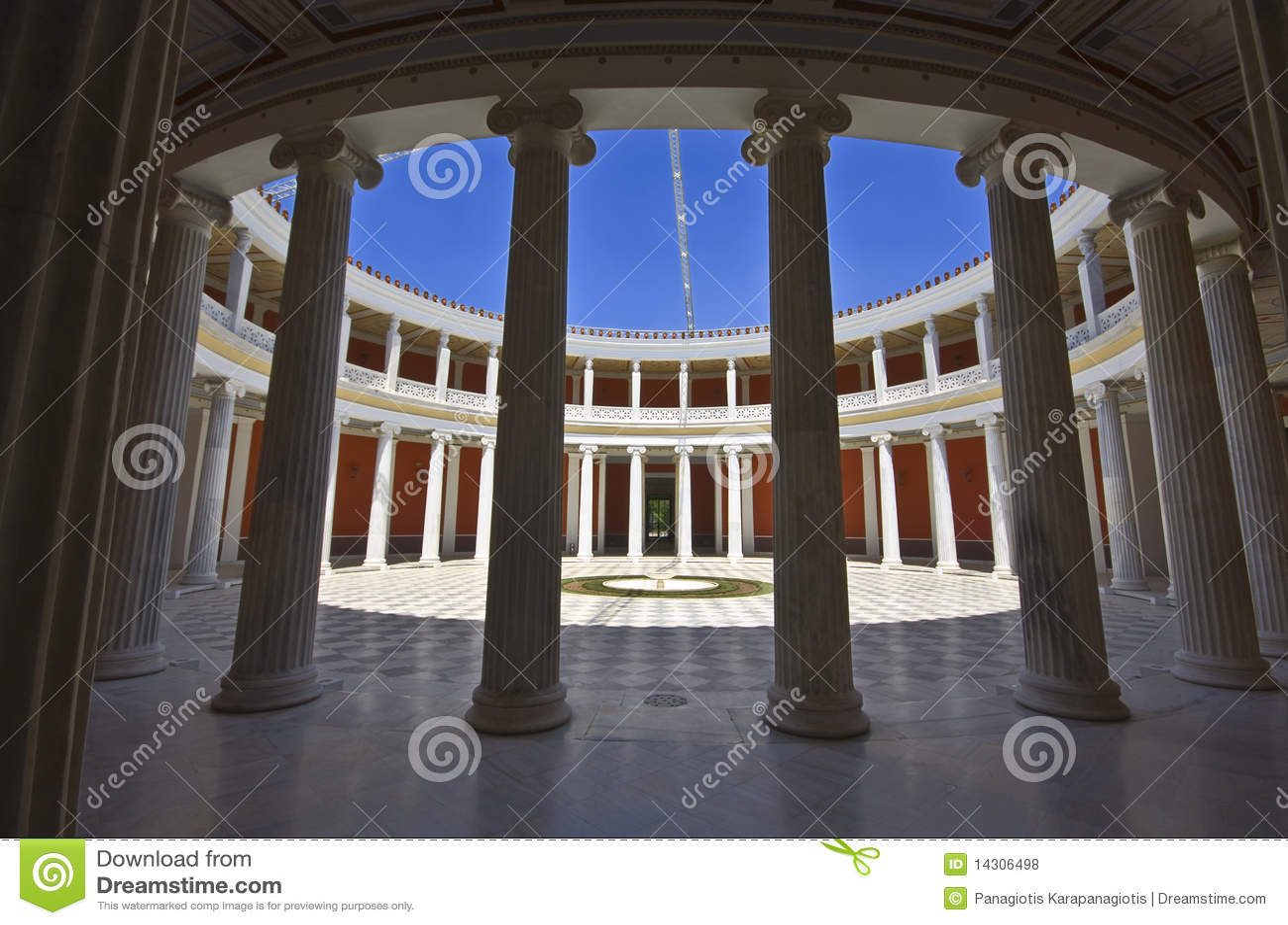 Athens megaron zappeion