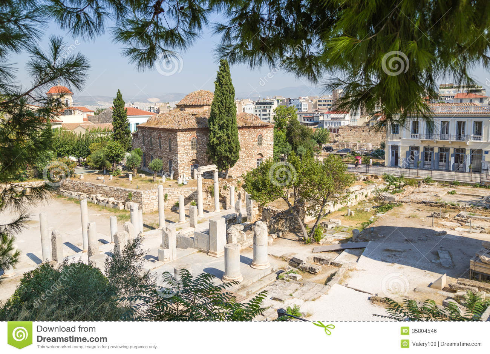 Athens. Roman Agora Royalty Free Stock Image - Image: 35804546