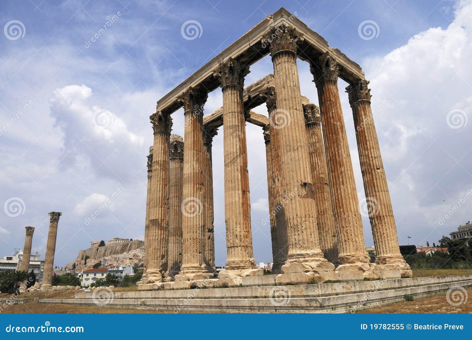 Athens tempelzeus