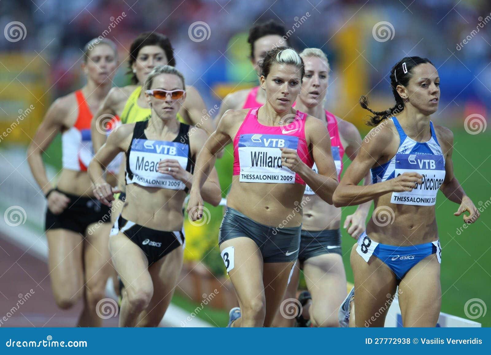 Athlètes féminins 800m finaux