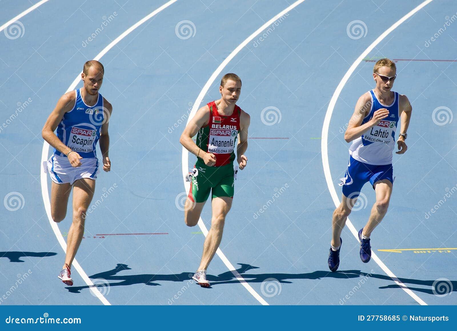 Athlétisme 800m