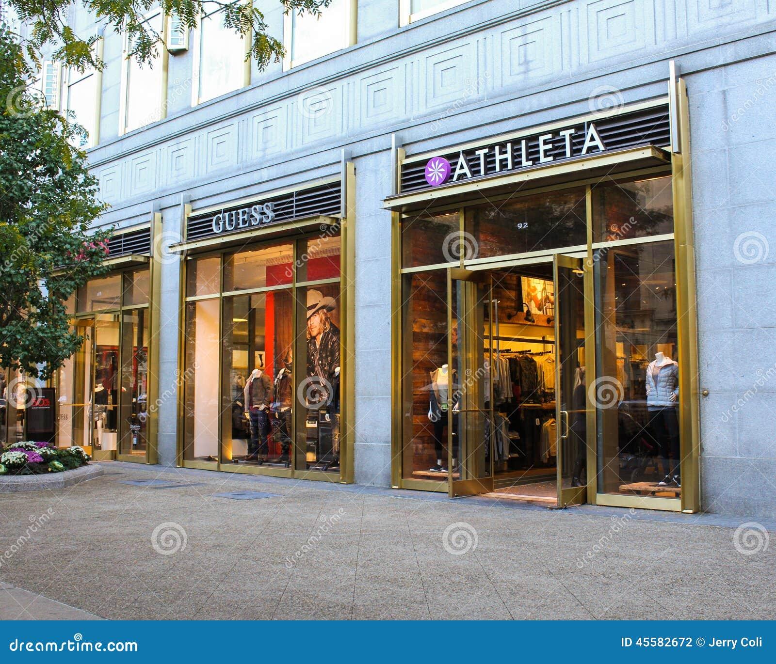 Newbury street clothing stores