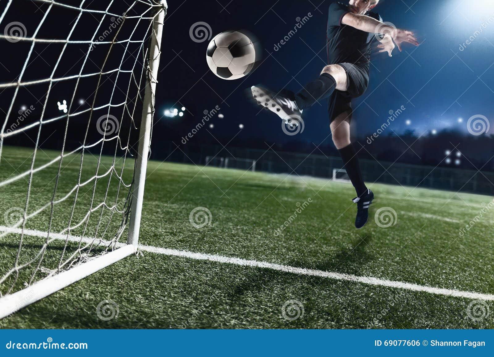 soccer ball goal cartoon vector cartoondealercom 34722701