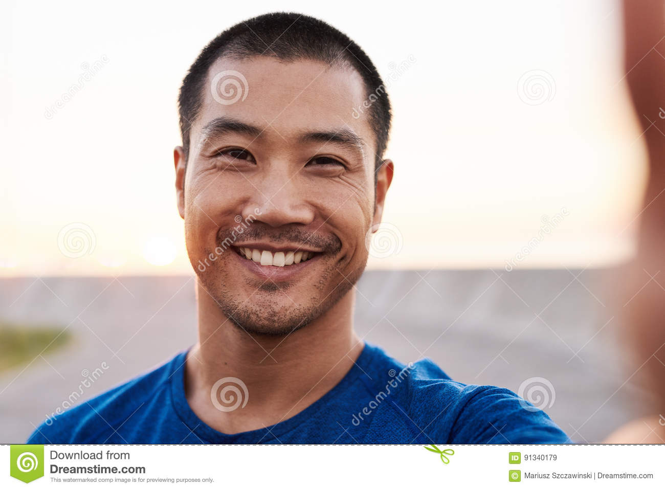 Asian men photograph