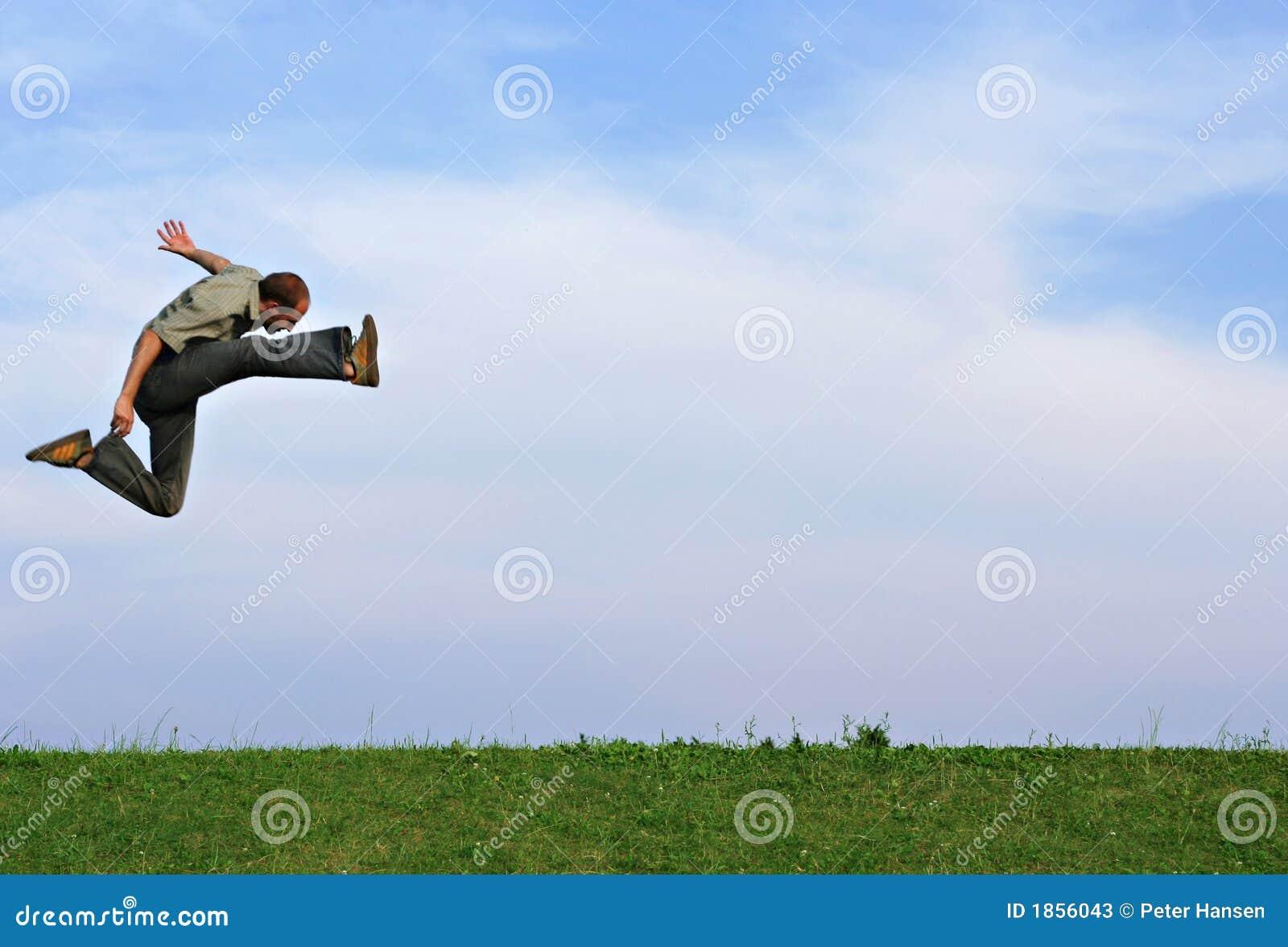 athletic jump stock photos image 1856043