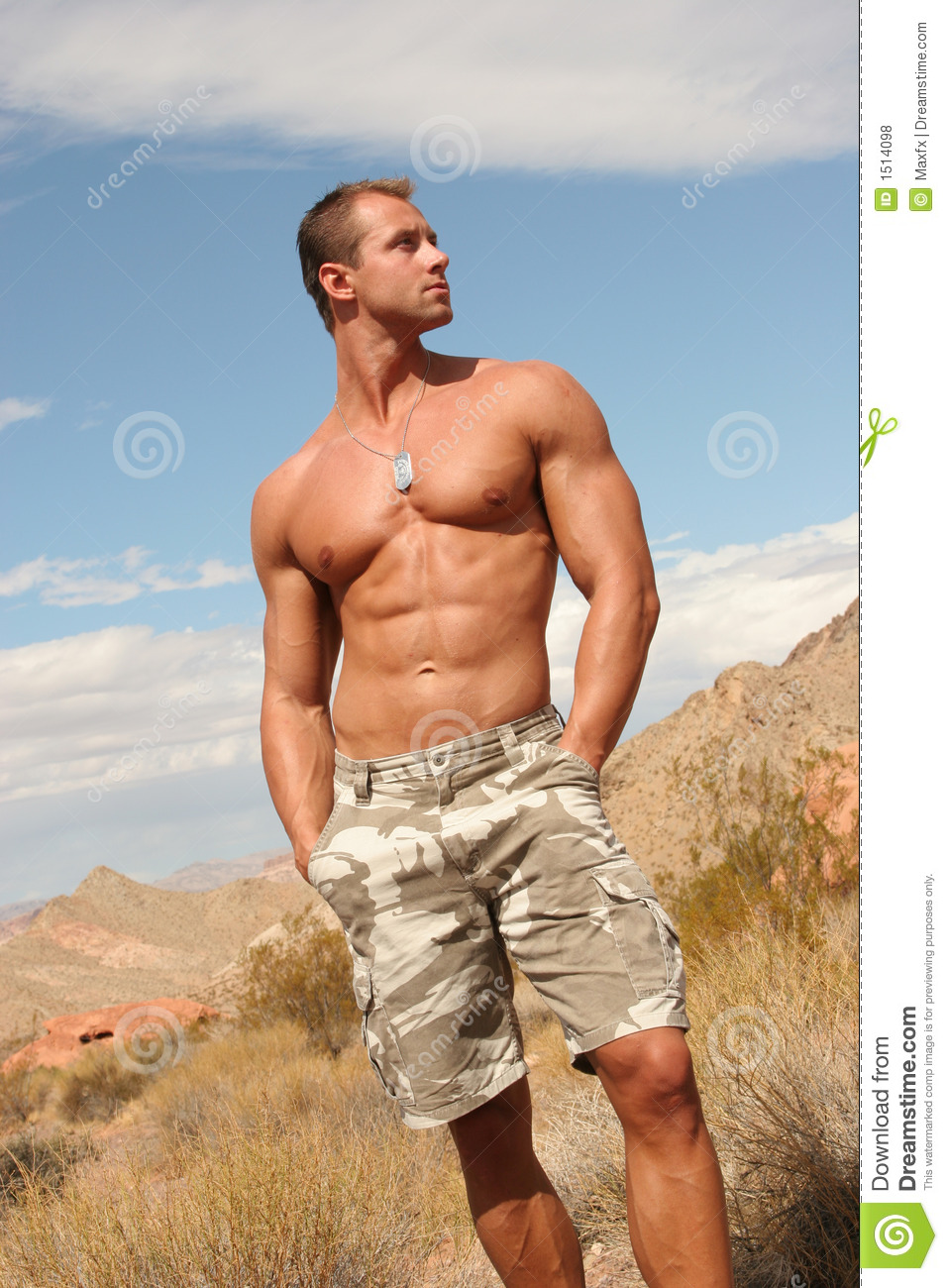 Sexy Handsome Athletic Man In Spa Royalty Free Stock Image