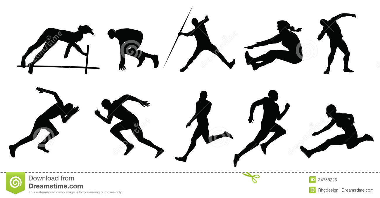 Athletic Sports Royalty Free Stock Image - Image: 34758226